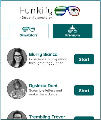 Screen shot of Funkify Plugin
