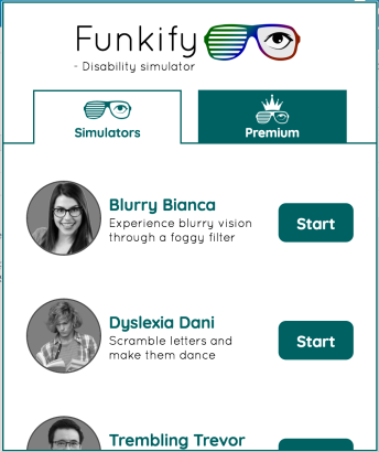 Screen shot of Funkify Plugin